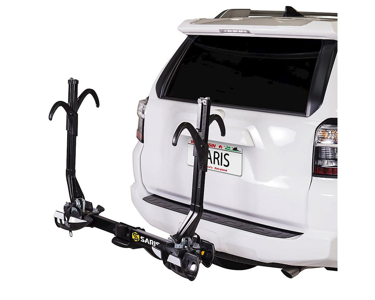 SuperClamp EX Hitch Rack: 2 Bike, Universal Hitch, Black