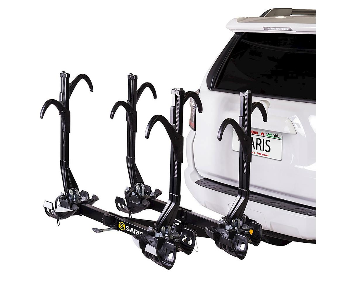 "SuperClamp EX Hitch Rack: 4 Bike, 2"" Receiver, Black"