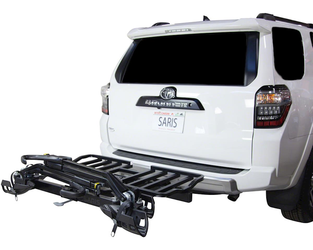 Saris SuperClamp Cargo Bike Rack (Black) (2-Bike) (Universal Hitch)