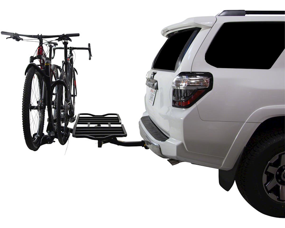 Image 2 for Saris SuperClamp Cargo Bike Rack (Black) (2-Bike) (Universal Hitch)