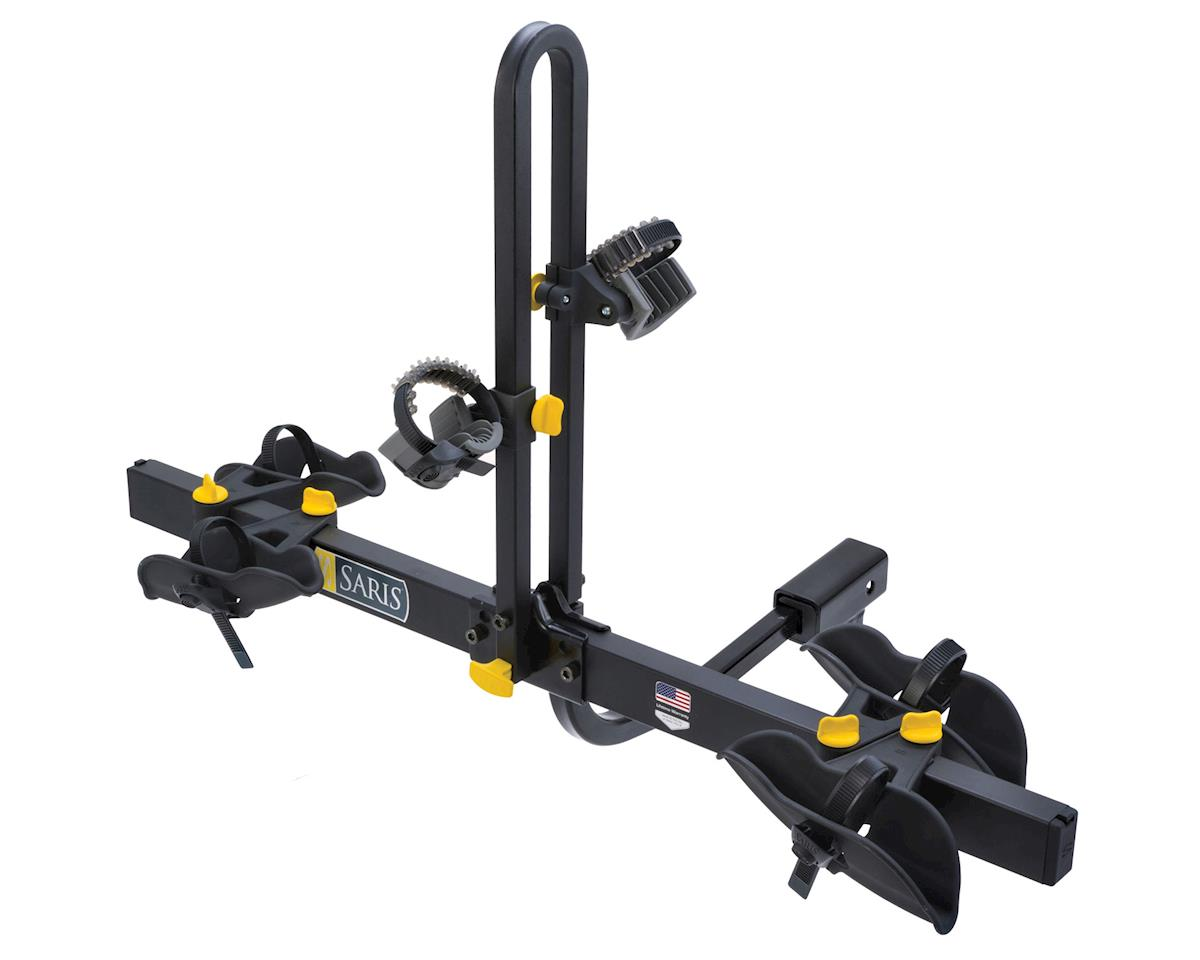 Freedom Hitch Rack: 2 Bike, Universal Hitch, Black