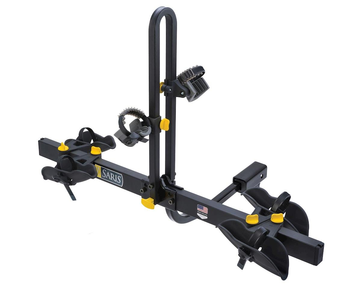 Saris Freedom Tray Hitch Rack (Black) (2 Bike)