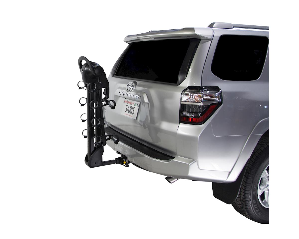 Saris Glide EX 4-Bike Hitch Rack (Black)