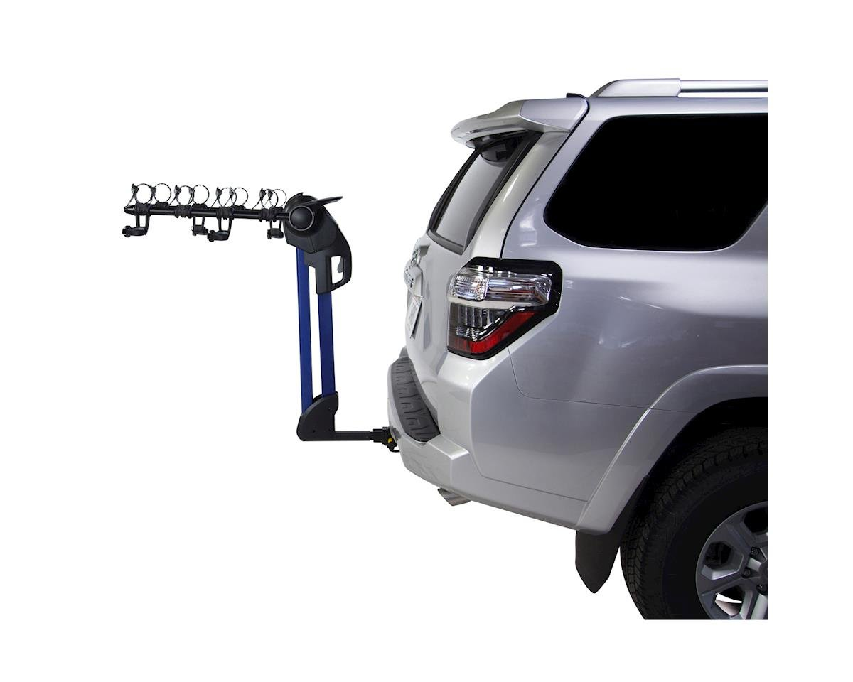 774BLU Glide EX 4-Bike Hitch Rack, Blue