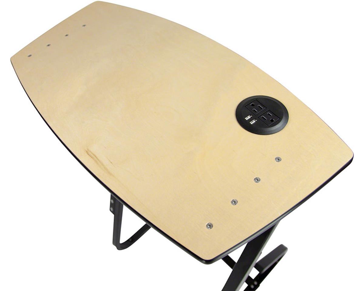 Image 3 for Saris TD1 Trainer Desk w/ Integrated USB/AC Socket