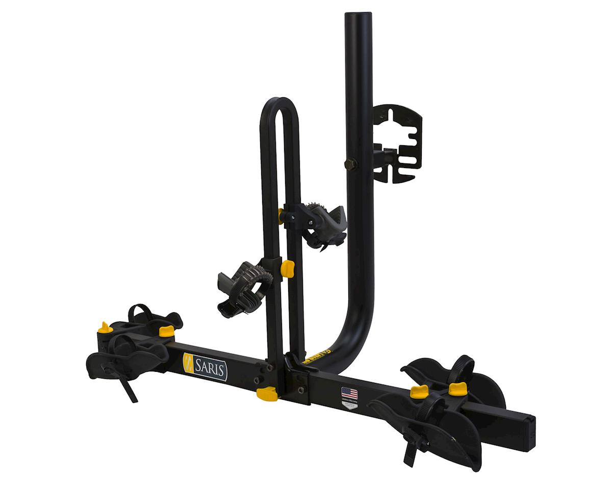 Freedom Spare Tire Rack: 2 Bike, Black