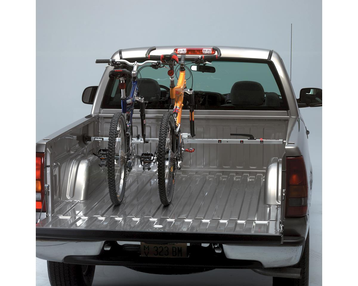 Saris Kool Rack Truck Bed Rack: 2 Bike, Silver