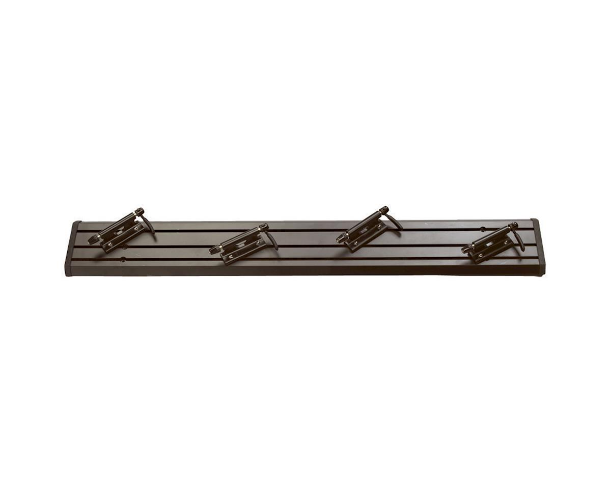 "Traps Triple Track Truck Bed Bike Rack: 35"" Black"