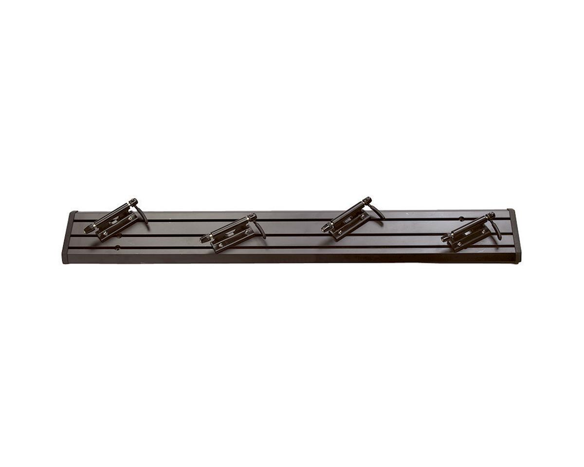 "Saris Traps Triple Track Truck Bed Bike Rack: 47"" Black"