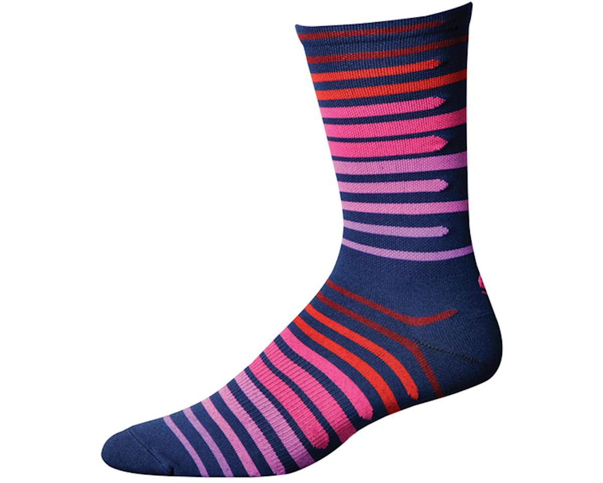"""Save Our Soles Dusk to Dawn 7"""" Socks (Granite) (XL)"""