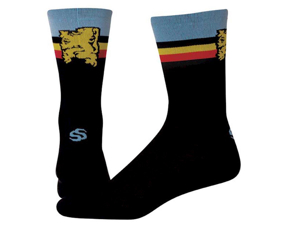 "Save Our Soles Flanders 7"" Socks (Black) (XL)"