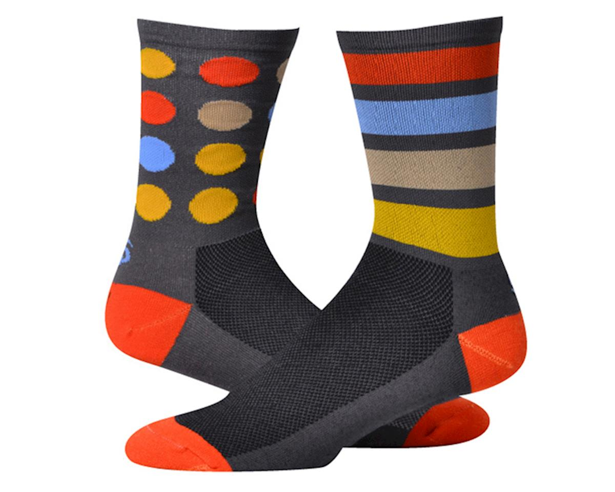 """Save Our Soles Oops! 7"""" Socks (Grey) (L)"""