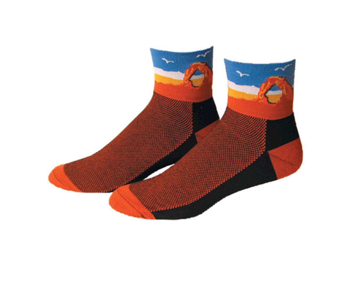 "Save Our Soles Utah 2.5"" Socks (Orange)"