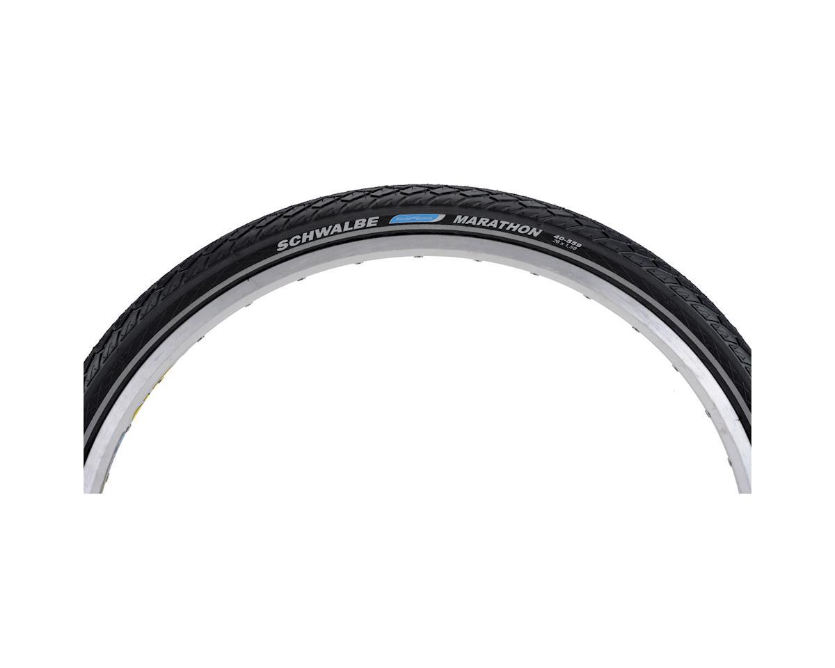 Schwalbe Marathon Tire (Black/Reflect) (Wire Bead) (GreenGuard) (700 x 38)