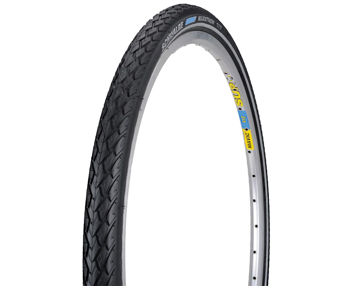 Schwalbe Marathon Tire (Black/Reflect) (Wire Bead) (GreenGuard) (26 x 1.6)