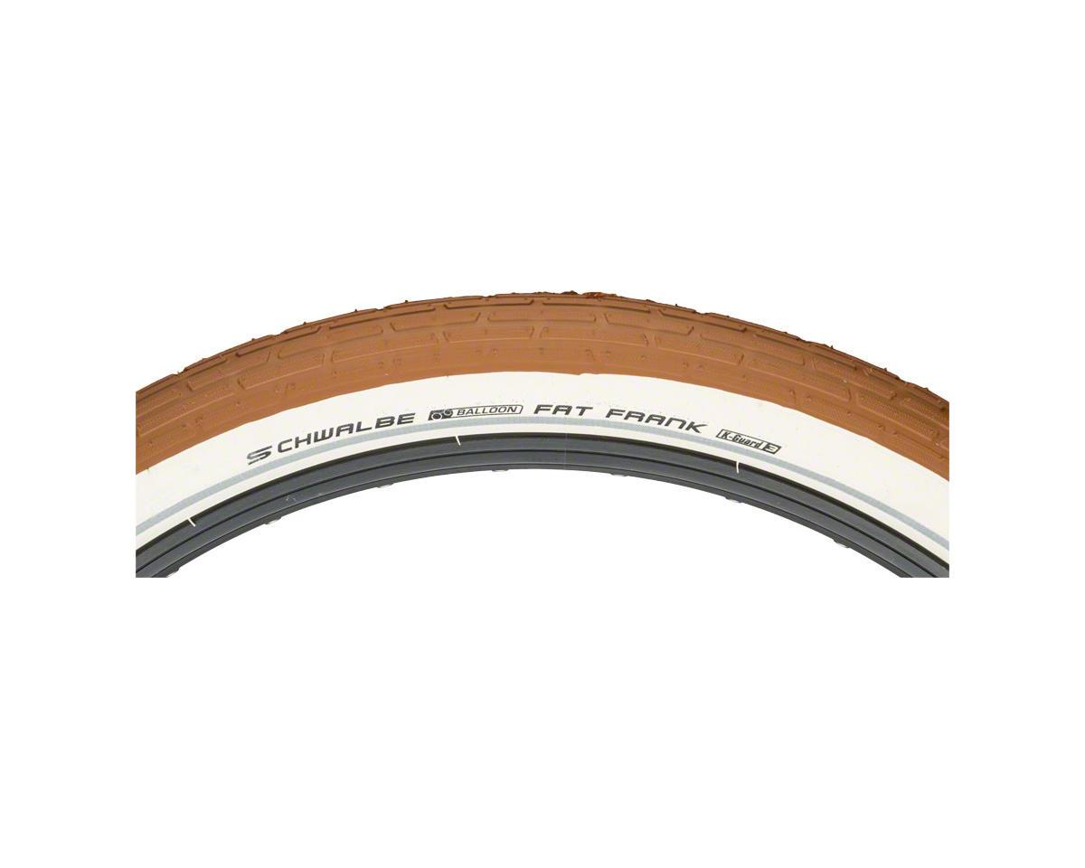"Schwalbe Fat Frank Tire (Wire Bead) (K-Guard) (26 x 2.35"") (Brown/Reflect)"