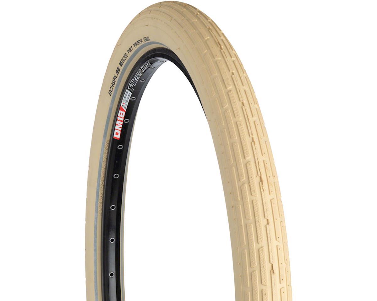 Schwalbe Fat Frank Tire (Creme w/ Reflective Sidewalls) (Wire Bead) (26x2.35)