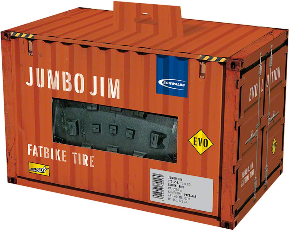Schwalbe Jumbo Jim Tire (SnakeSkin/TL Easy) (26 x 4.80)