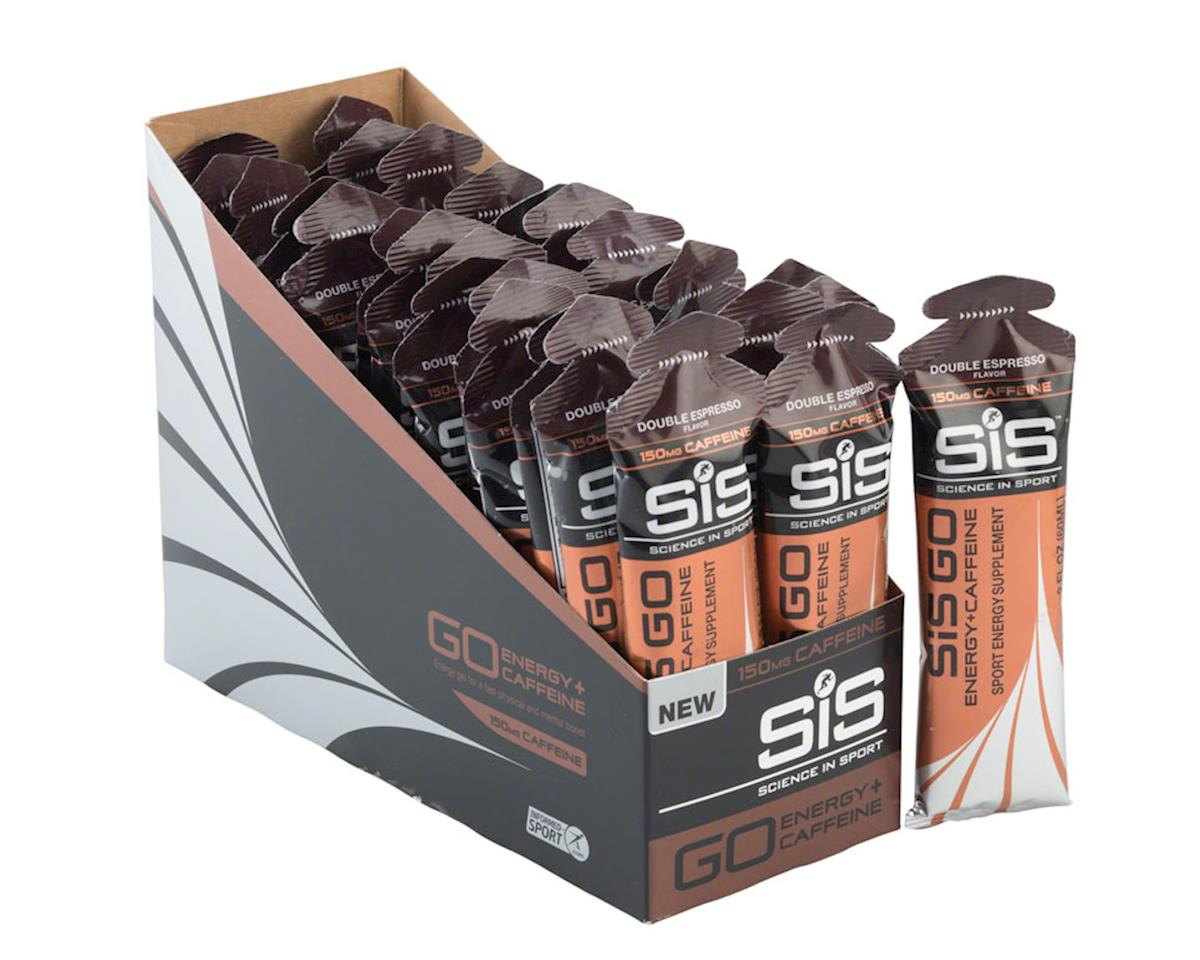 SiS GO Energy + Caffeine Gel: Double Espresso, 60ml, Box of 30