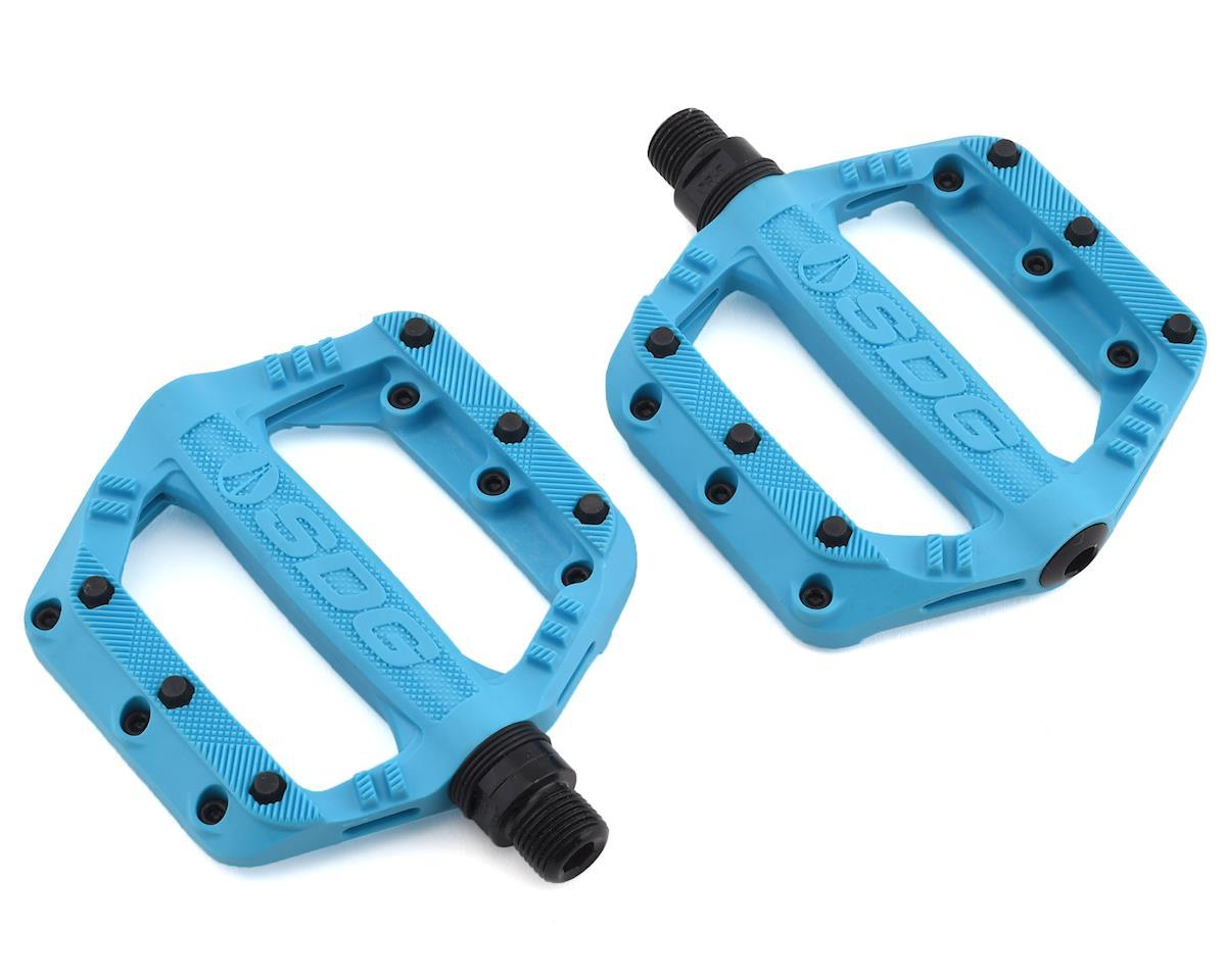 Sdg Slater Nylon Flat Pedals (Blue)
