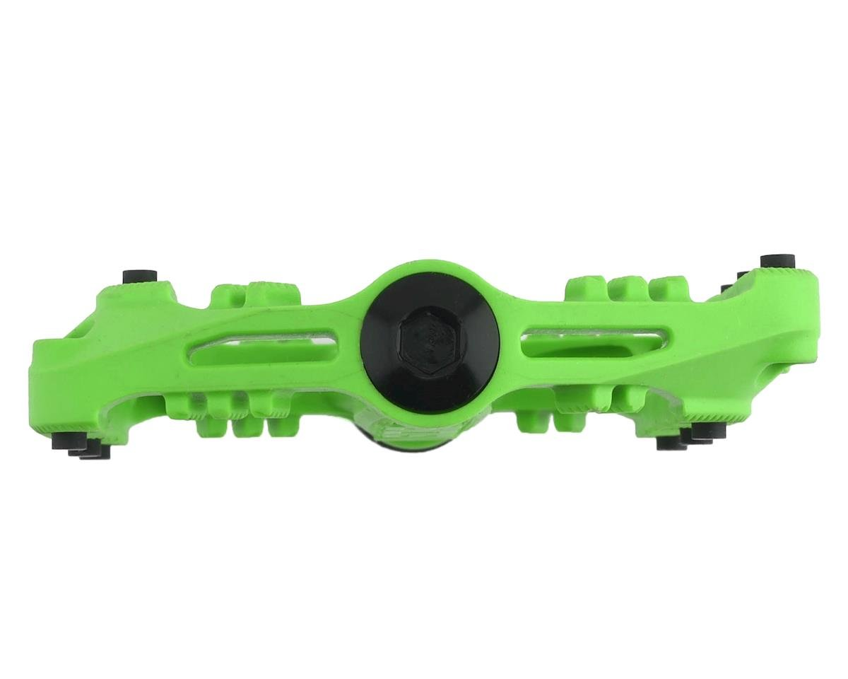 Sdg Slater Nylon Flat Pedals (Neon Green)