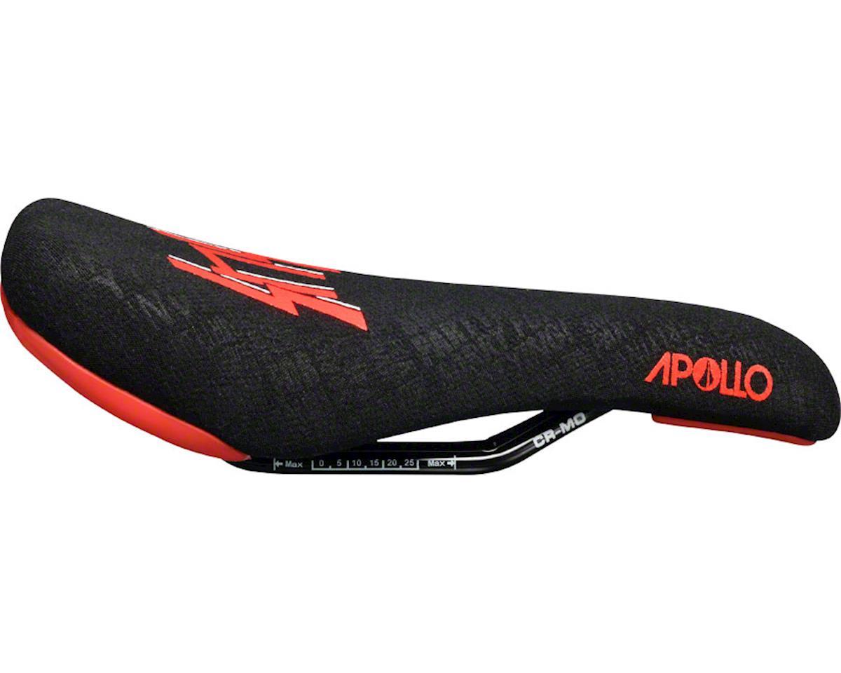Sdg Apollo Sensus Saddle (Black/Red) (Chromoly Rails) (Aramid Embossed Cover)