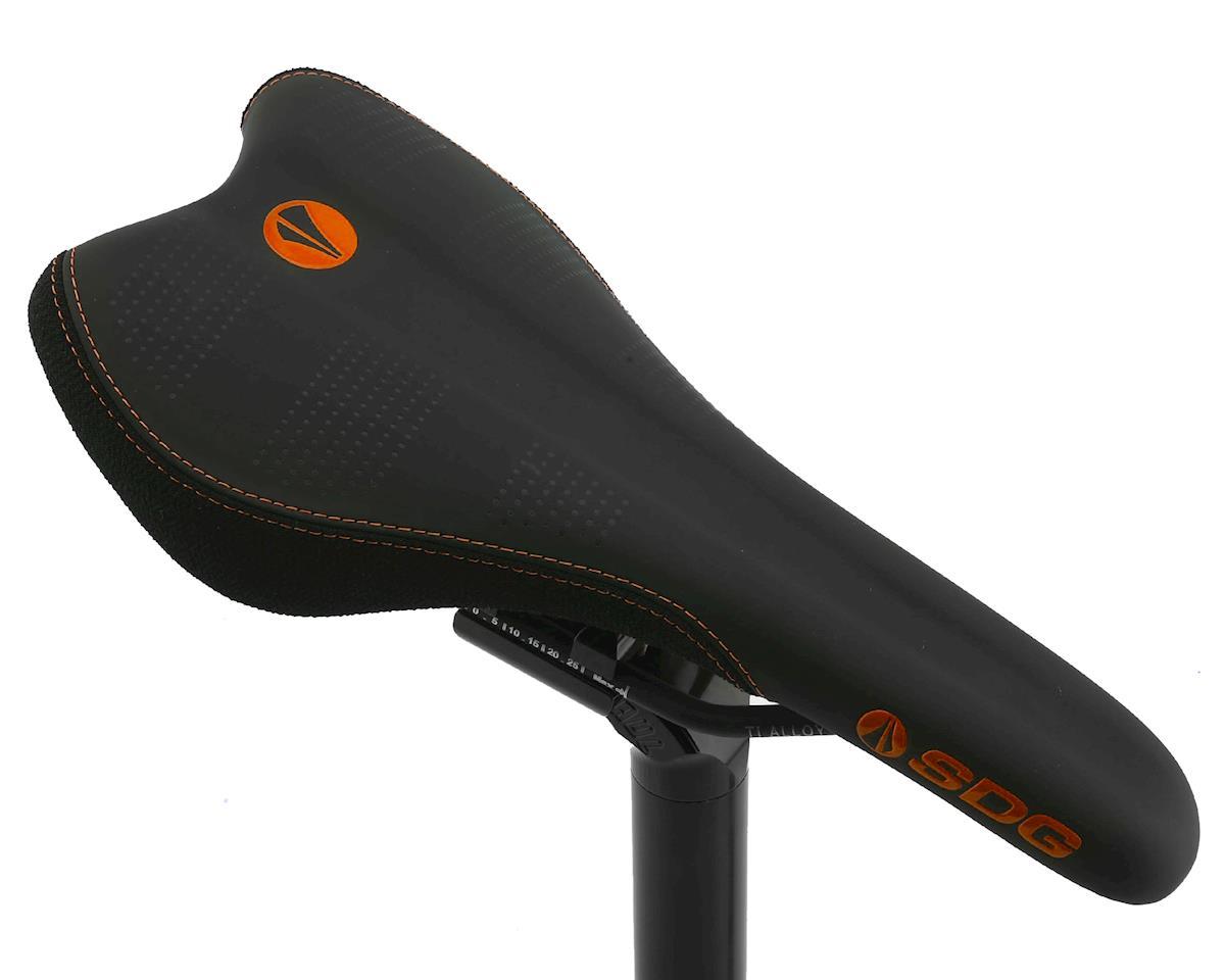 Sdg Radar Mountain Saddle (Ti-Alloy Rails) (Orange/Black)