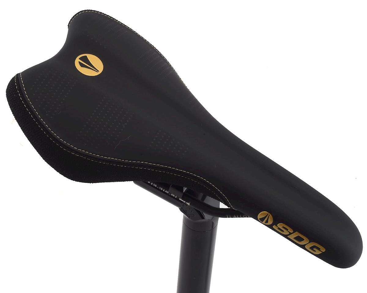 Sdg Radar Mountain Saddle (Gold/Black) (Ti-Alloy Rails)