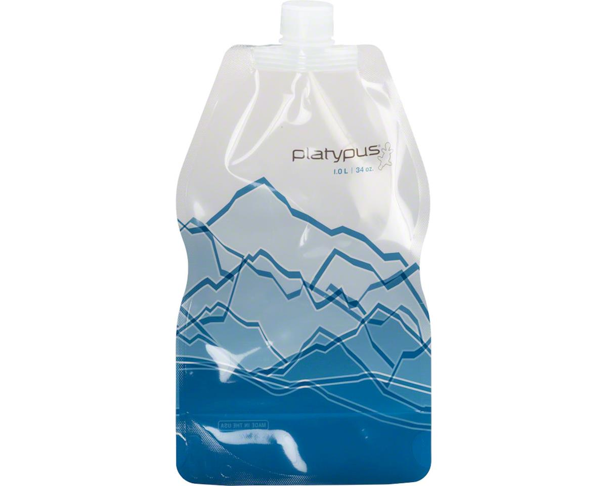 Platypus SoftBottle Water Bottle with Closure Cap: 32 oz, Mountain