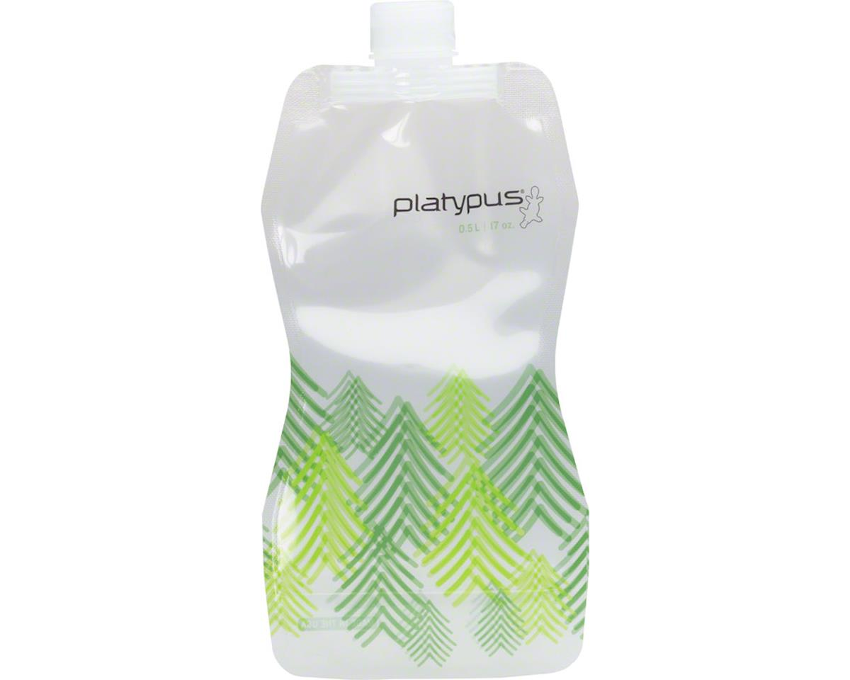Platypus SoftBottle Water Bottle with Closure Cap: 16 oz, Trees