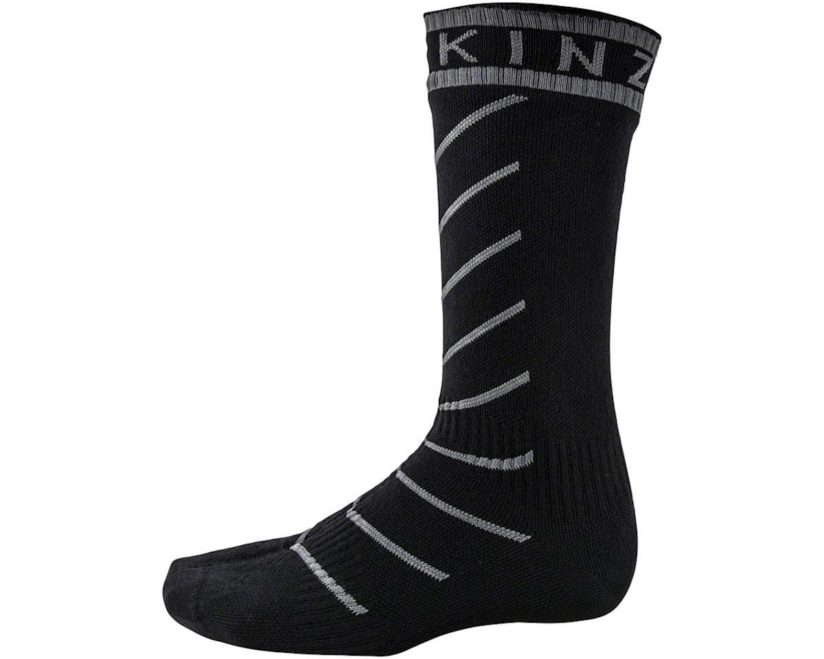 Sealskinz Super Thin Pro Mid Waterproof Sock (Black) (S)
