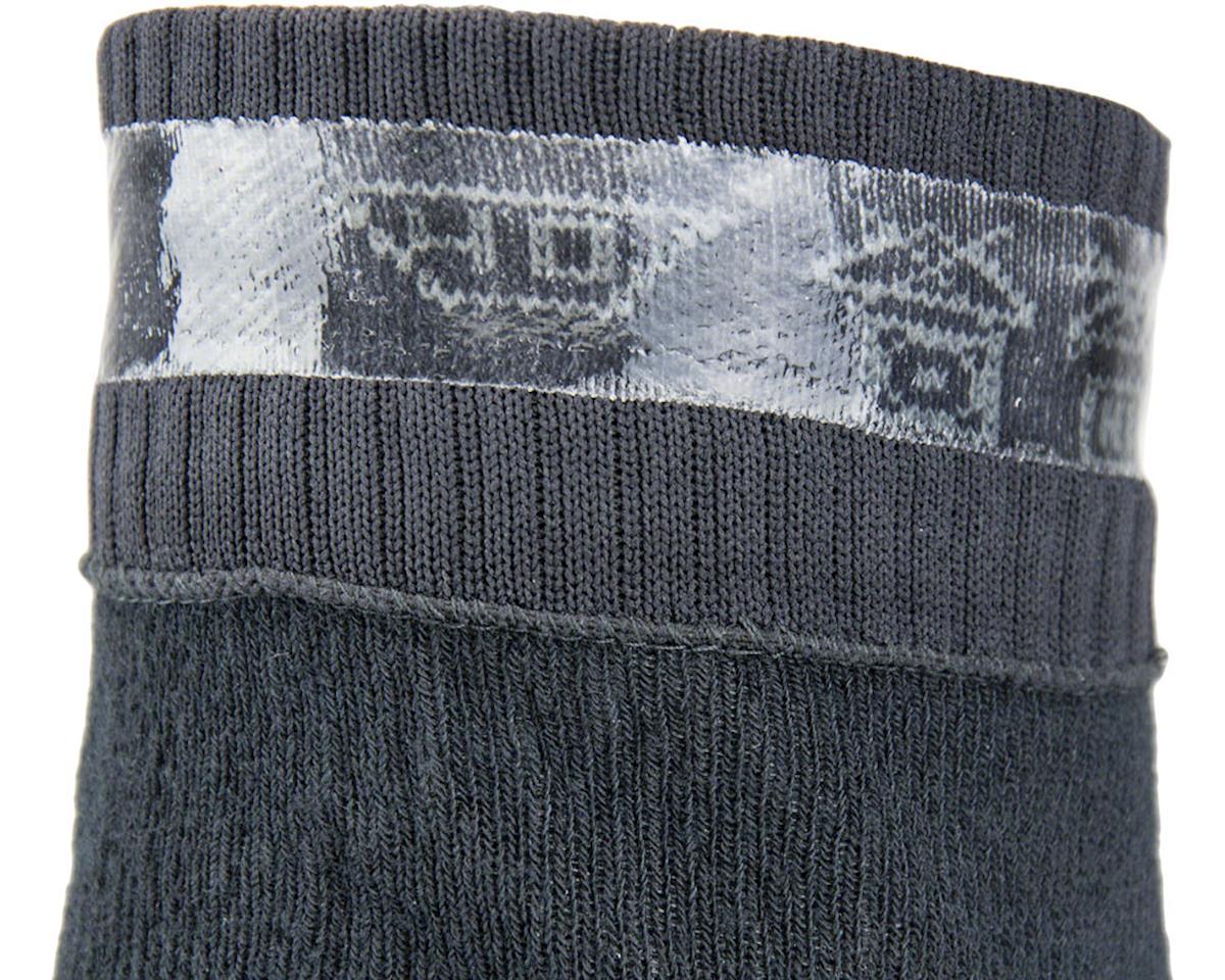Sealskinz Super Thin Pro Mid Waterproof Sock (Black) (XL)