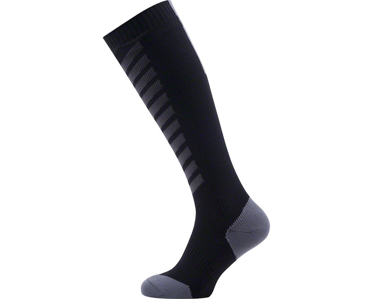 Sealskinz Seal Skinz Mid Knee Hydrostop Waterproof Sock (Black) (M)