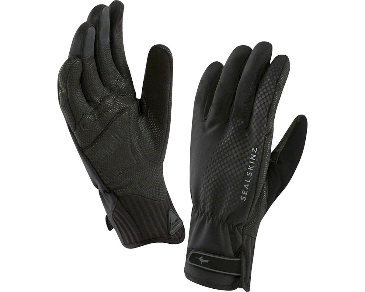 Sealskinz Seal Skinz All Weather Cycle XP Waterproof Glove: Black, LG (S) (M)
