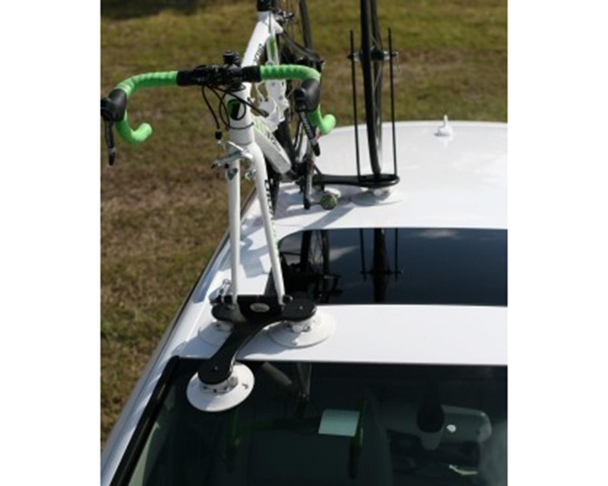 SeaSucker Flight Deck Platform w/Hook Loop Rear Wheel Strap & Front Wheel Holder