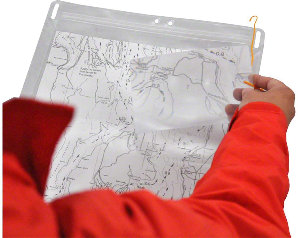 Seattle Sports Company Dry Doc Magni Map Case Clear, Large, 15 x 12.25""