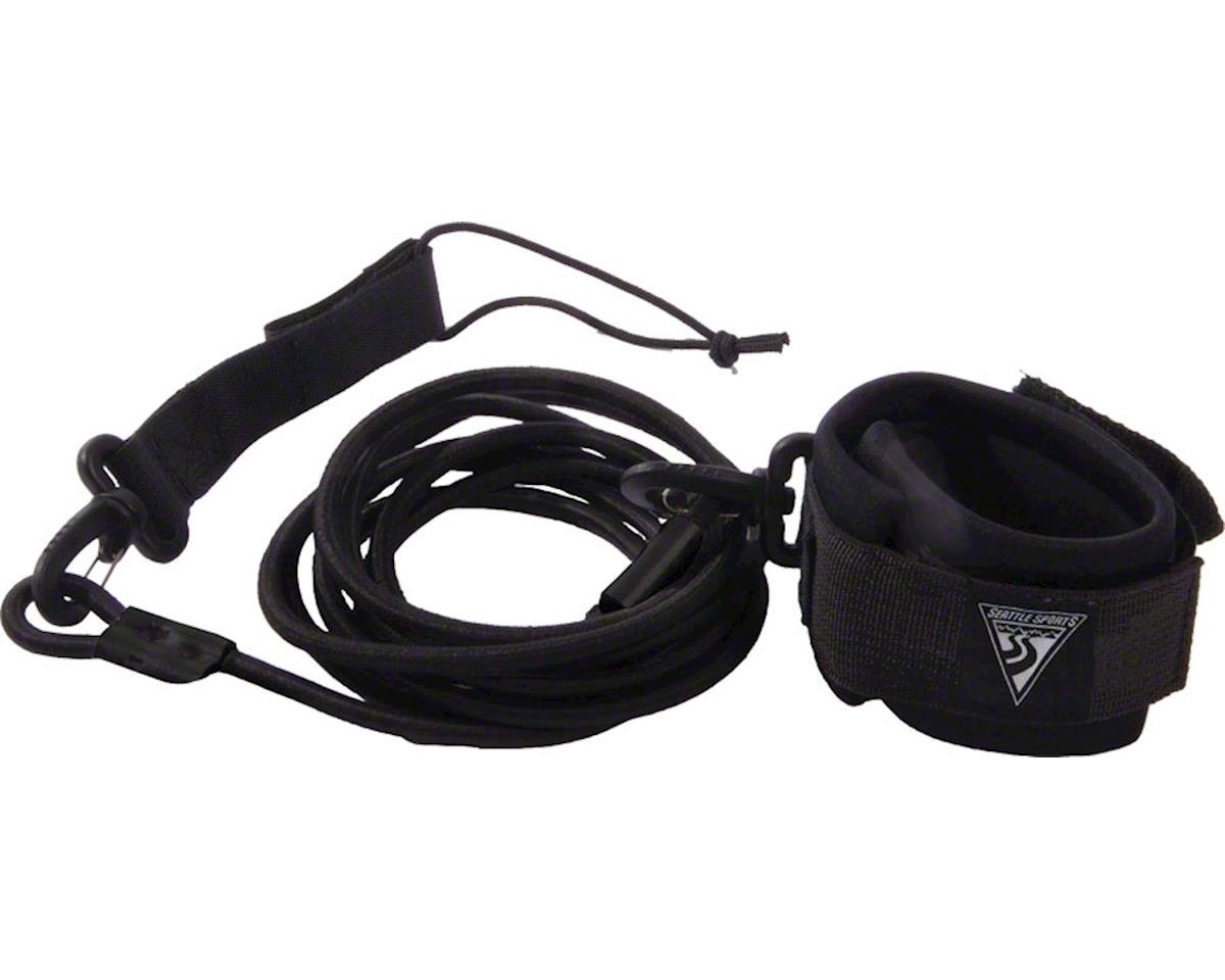 SUP Leash, 6-foot: Black