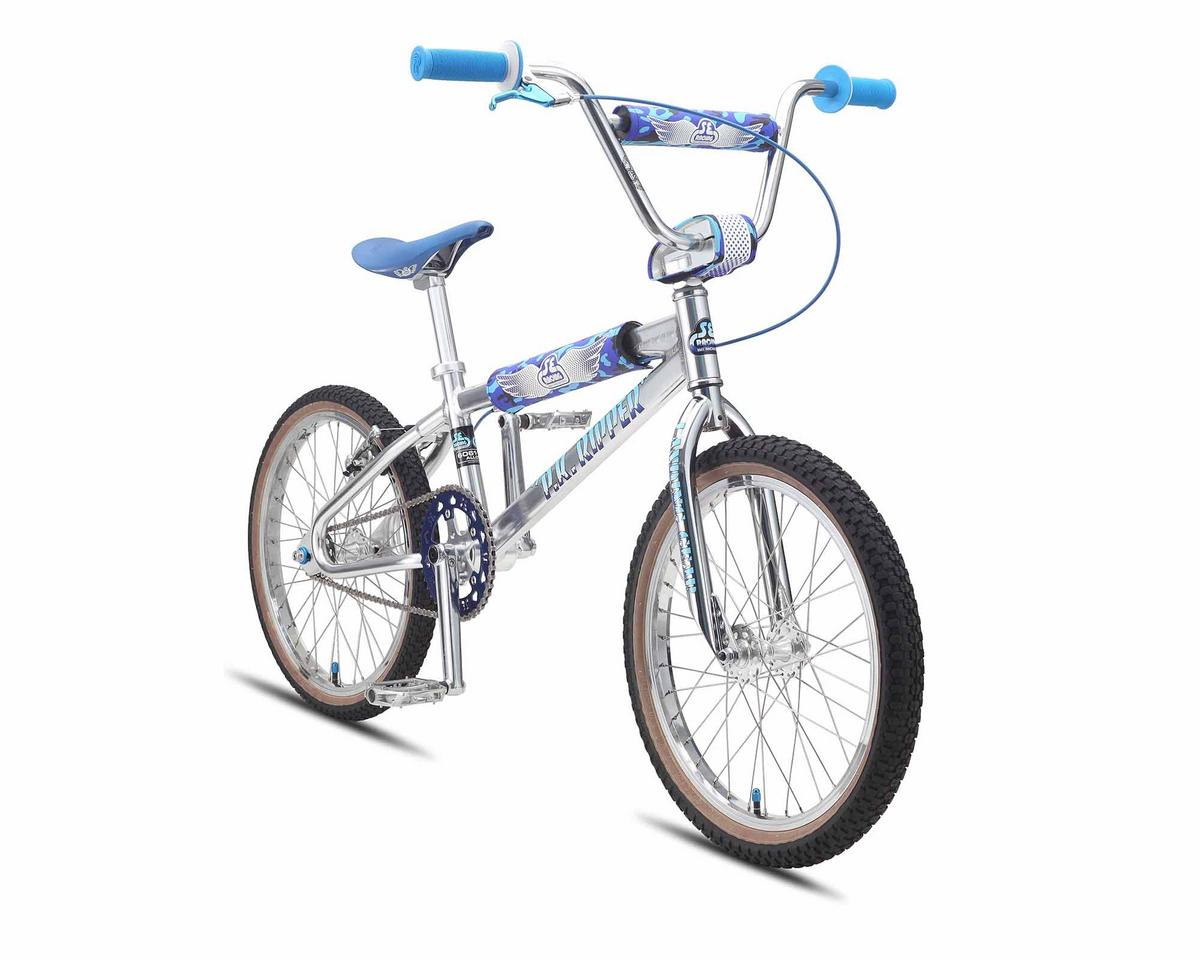 SE Racing PK Ripper Looptail BMX Bike - 2015 (Silver) (20)