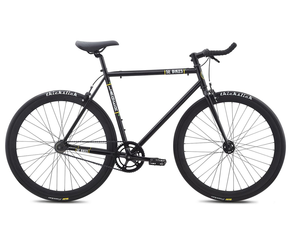 SE Lager Single-Speed Fixed Gear Road Bike (Black) (52cm)