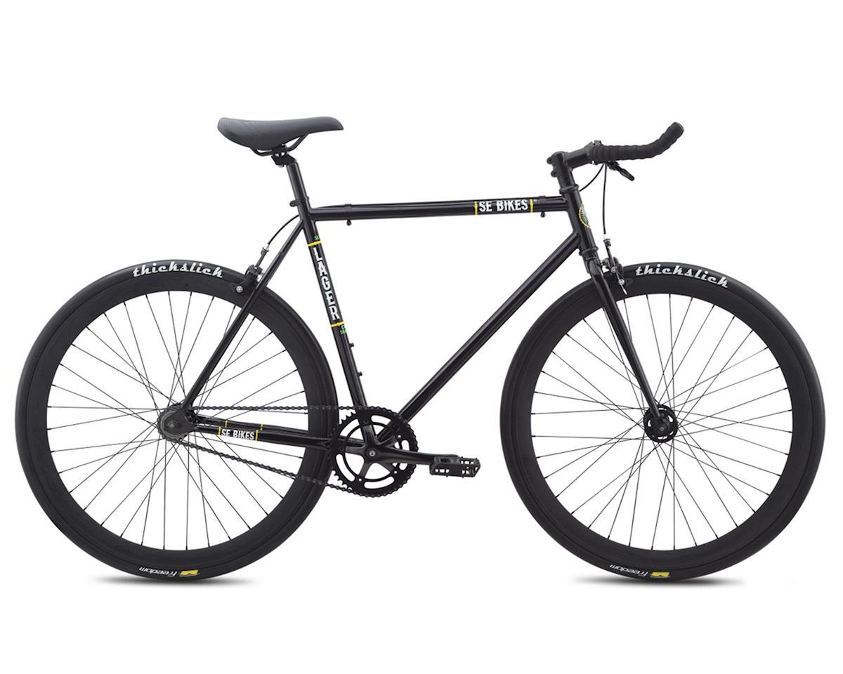 Lager Single-Speed Fixed Gear Road Bike (Black)