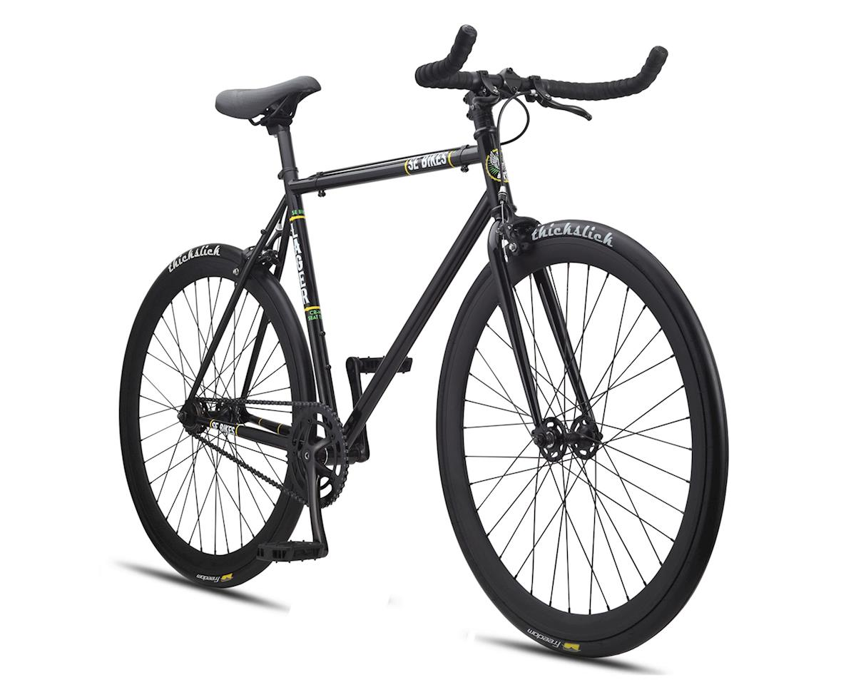 SE Racing Lager Single-Speed Fixed Gear Road Bike (Black)