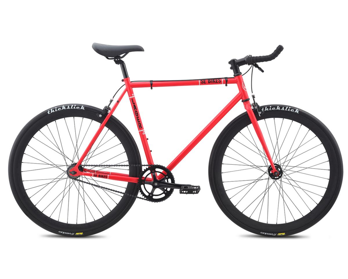 SE Racing Lager Single-Speed Fixed Gear Road Bike (Red) (49cm)