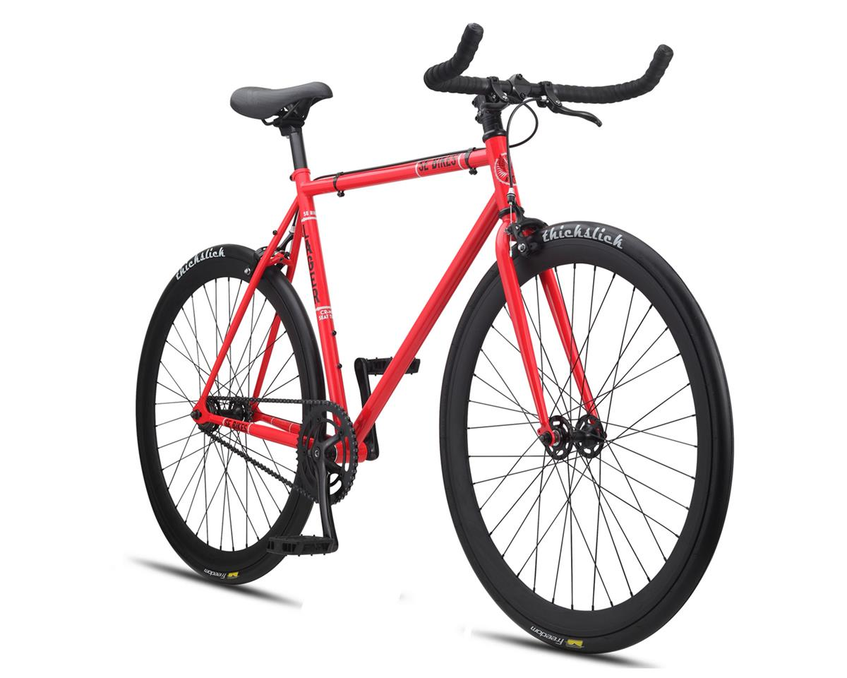 SE Racing Lager Single-Speed Fixed Gear Road Bike (Red)