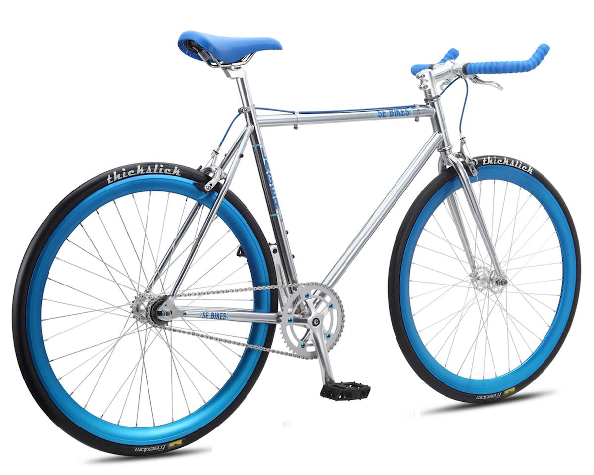 SE Racing Lager Single-Speed Fixed Gear Road Bike (Chrome)