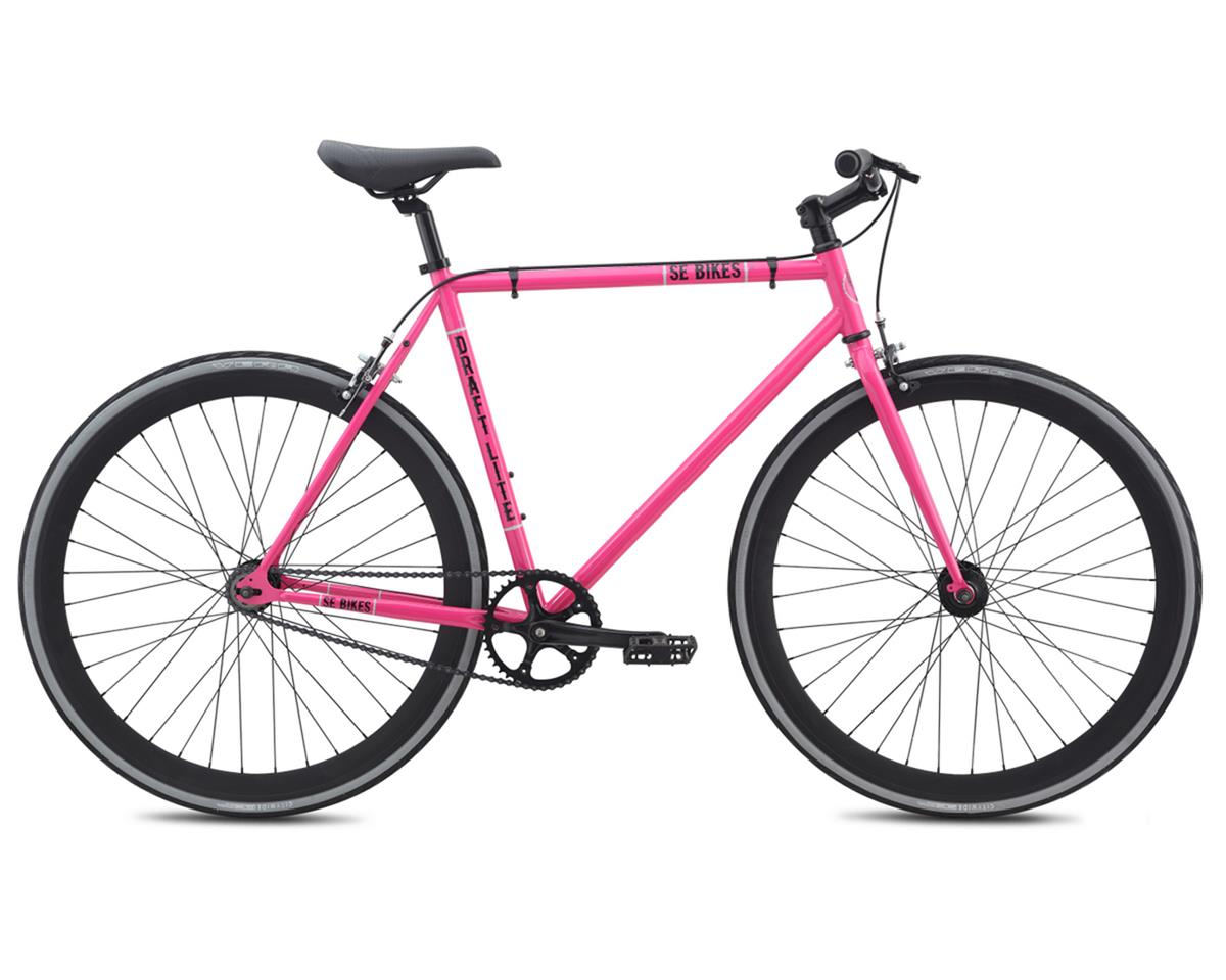 SE Racing Draft Lite Single-Speed Fixed Gear Road Bike (Pink)