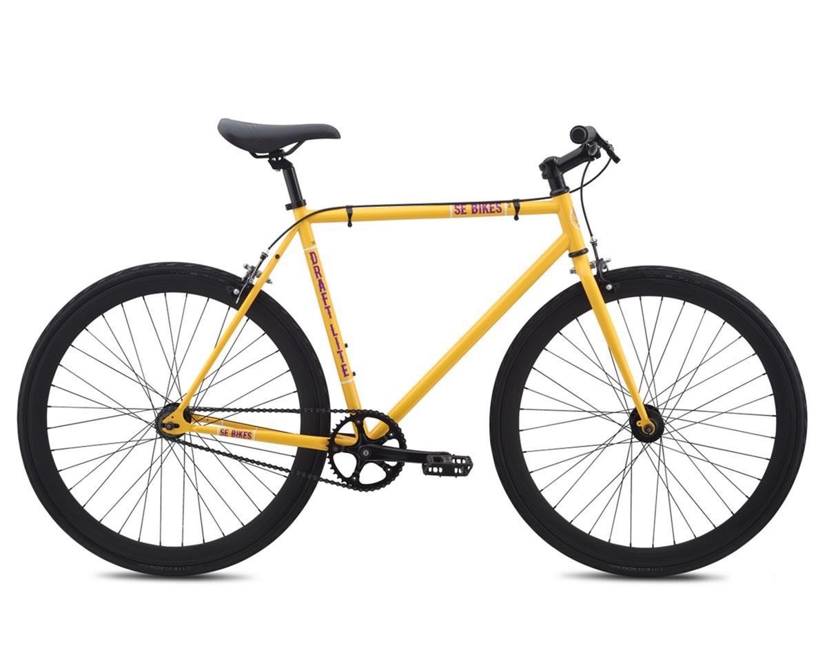 SE Racing Draft Lite Single-Speed Fixed Gear Road Bike (Yellow) (58cm)