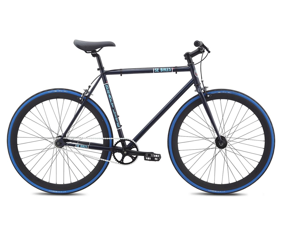 SE Racing Draft Lite Single-Speed Fixed Gear Road Bike (Dark Blue)