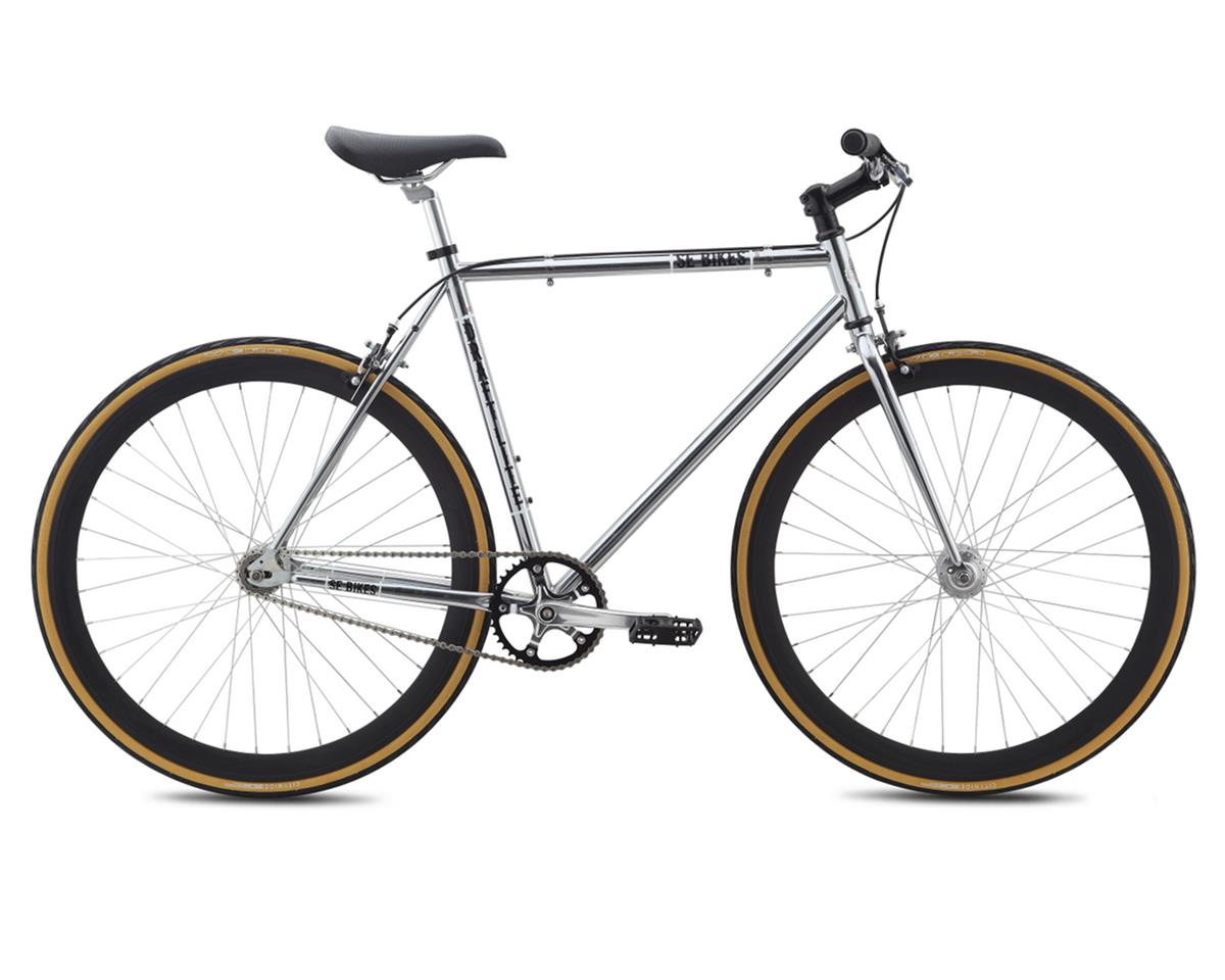 SE Racing Draft Lite Single-Speed Fixed Gear Road Bike (Chrome)