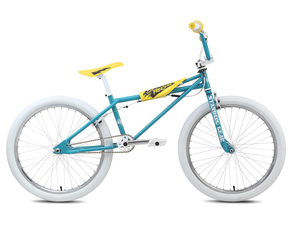"SE Racing Quadrangle Freestyle 24"" BMX Bike - 2015 (Aqua) (24)"