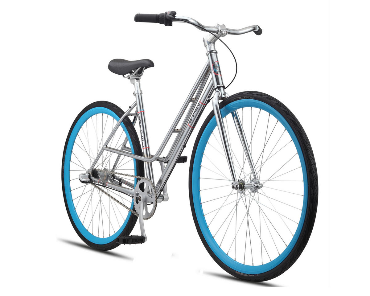 SE Racing Tripel Women's Chrome City Bike - 2015 (Chrome)
